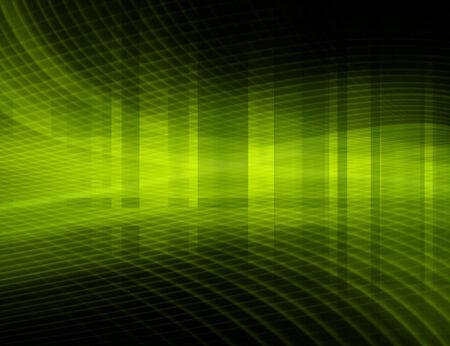 Green Futuristic Background  photo