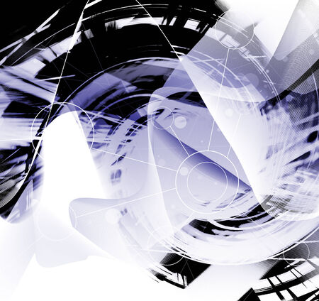 Abstract Futuristic Background photo