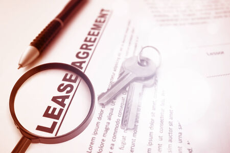 Lease Agreement,For Real Estate Concept  photo