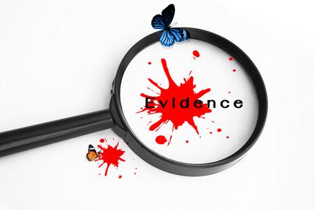 Evidence Concept  photo