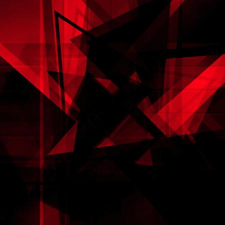 Abstrait arrière-plan rouge Banque d'images