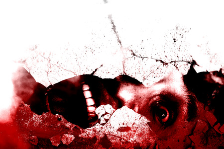Under the Ruins,Bloody,Horror Background For Movies Poster Project photo