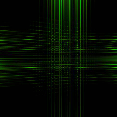 green abstract background: