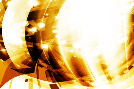 dynamic background: Orange Art Abstract Dynamic Background Design