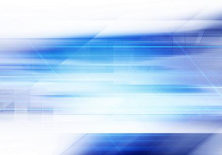 технология: Синий абстрактный фон