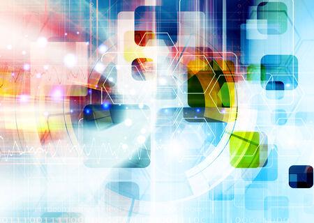 Futuristic Background Design photo