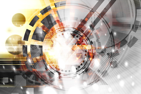 Futuristic Abstract Technology Background Stock Photo - 36105036