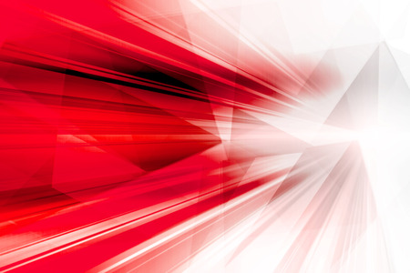 Abstract Futuristic Red Background
