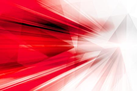 lineas onduladas: Fondo futurista abstracto rojo