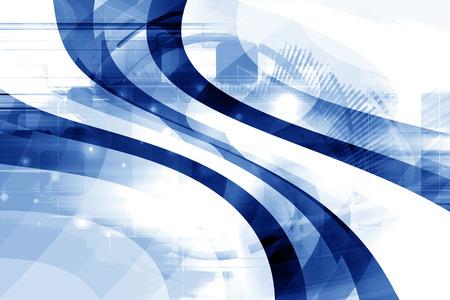 Blue Abstract Dynamic Art Futuristic Background Design Zdjęcie Seryjne