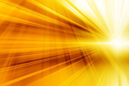 Abstrakcja w kolorze żółtym tle dynamicznej sztuki Futurystyczny design