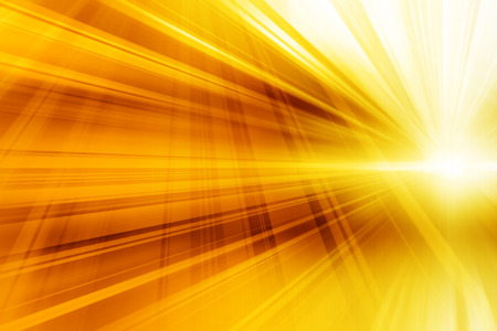 Yellow Abstract Dynamic Art Futuristic Background Design photo