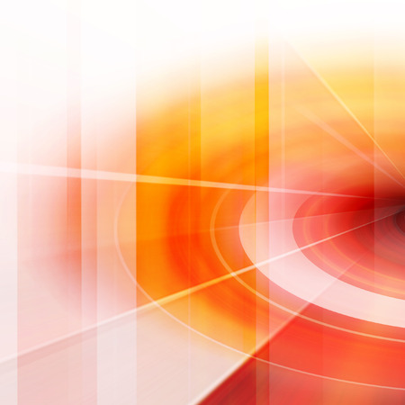 Orange Abstract Dynamic Art Futuristic Background Design