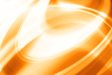 Orange Futuristic Abstract Background