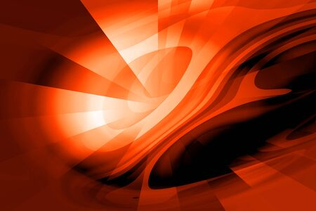 wallpaperrn: Orange Futuristic Abstract Background