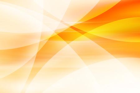 オレンジの曲線 BackgroundAbstract オレンジ背景