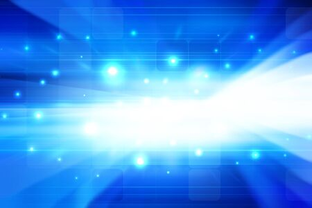 technology banner: Futuristic BackgroundAbstract Blue Background Stock Photo