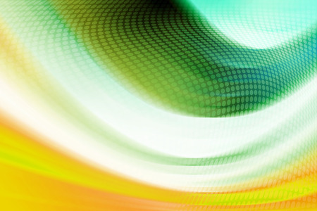 green lines: Abstract Colorful Curves Background