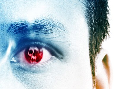 eyes: Evil In My Eye,Horror Background For Book Cover And Movies Poster Project