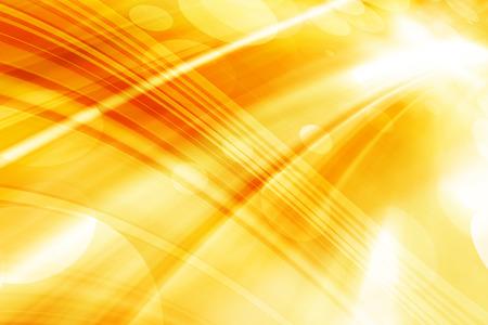 Orange Curves Abstract Futuristic Background Design