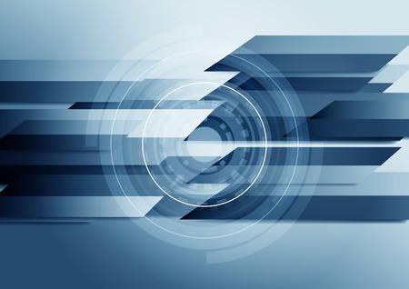 blue background: Blue futuristic background