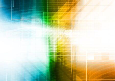 futuristic: Futuristic background