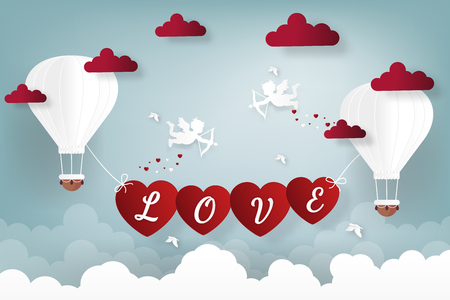 Happy valentines day and weeding design elements. Vector illustration.