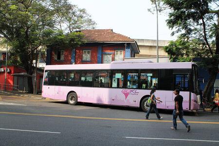 Kl city bus at pasa seni malaysia