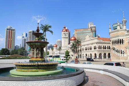 merdeka: Heritage fountain at dataran merdeka Editorial