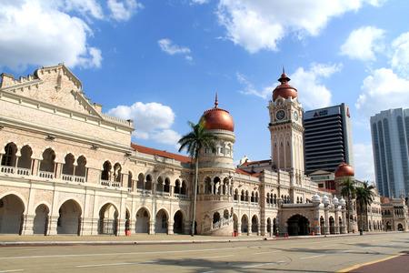 Sultan Abdul Samad Building in Kuala Lumpur Malaysia