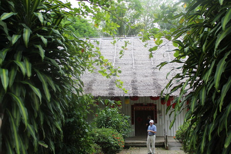 homesteads: Chinese house at Culture village Sarawak