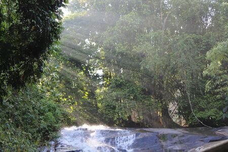 upside: Waterfall upside