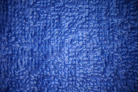 fabric surface: Blue fabric surface