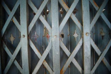 steel door: Old steel door background