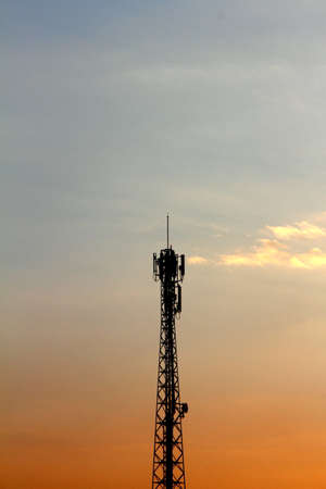 phon: signal Tower Stock Photo