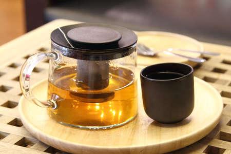 ifestyle: Hot tea Stock Photo