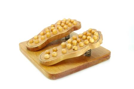 wood foot care tool photo