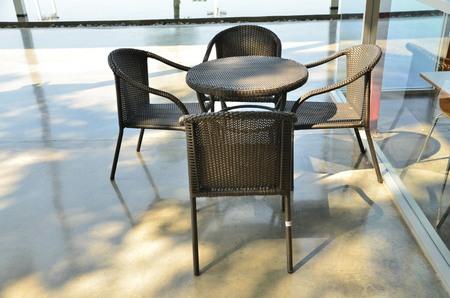 inwardly: chair Stock Photo