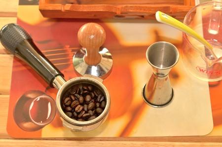 bar tool: coffee bean tool Stock Photo