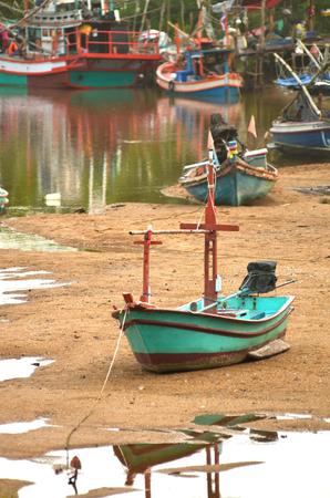 sand harbor: fisherman boat