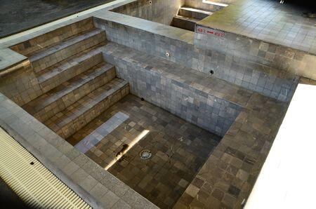 onsen: Onsen bath Stock Photo