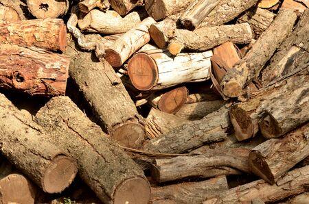 woodfire: wood Stock Photo