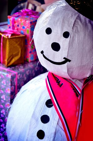 snow man: snow man