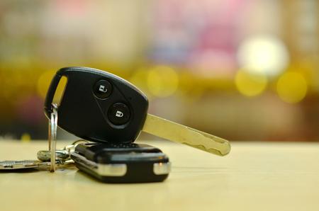 car lock: key remote of car