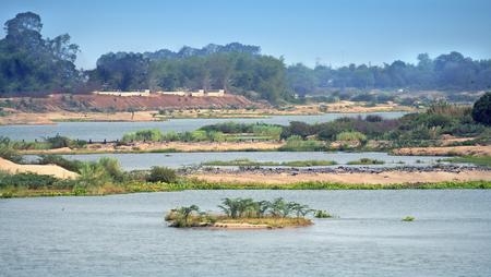 river scape: river scape Stock Photo
