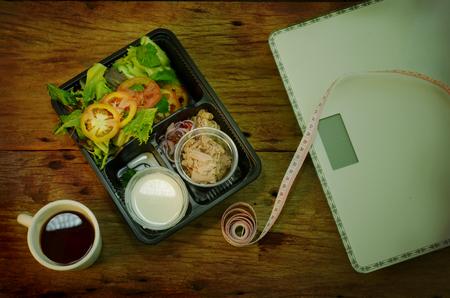 tuna salad is  clean food