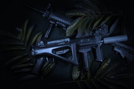 machine: machine gun