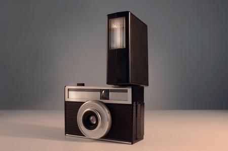 fash: retro film camera Stock Photo
