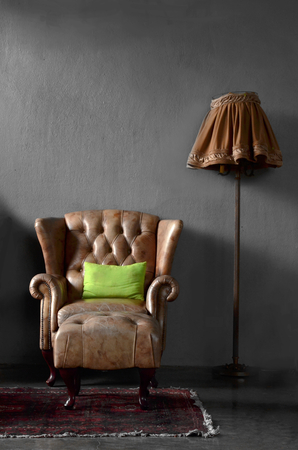 luis: luis chair and lamp