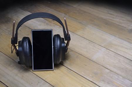 digitals: digitals music heardphone  Stock Photo